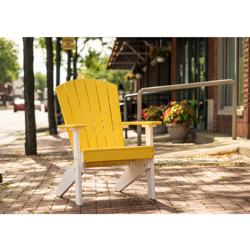 ... Lakeside Poly Adirondack Chair. Image 1