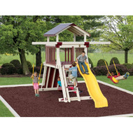 Giggle Junction Swing Set - Adventure World | Wayside Lawn Structures in Ohio