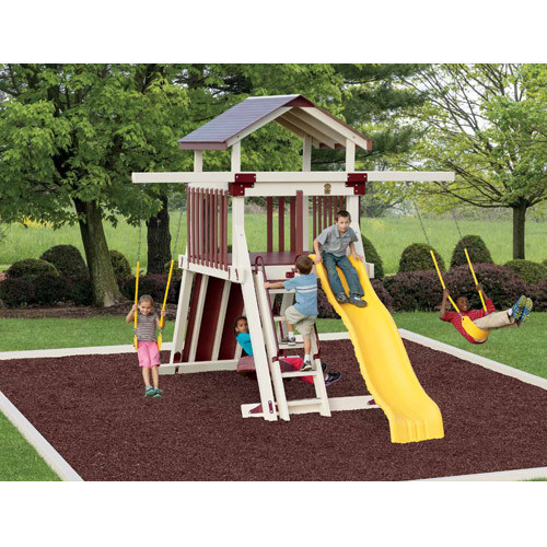 Giggle Junction Swing Set - Adventure World   Wayside Lawn Structures in Ohio