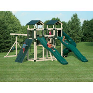 Fantasy Fortress Gym Set - Adventure World | Wayside Lawn Structures in Ohio