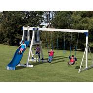 Vinyl Frolic Zone Playset - Adventure World | Wayside Lawn Structures
