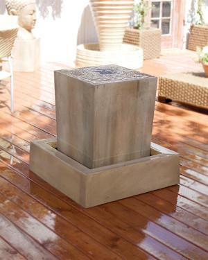 Obtuse Fountain (GFRC in Sierra finish)