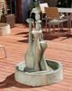 Spindel Fountain (GFRC in Dark Ancient finish)