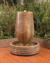 Trunk Fountain (GFRC in Sierra finish)