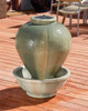 Mini Vase Fountain (GFRC in Dark Ancient finish)
