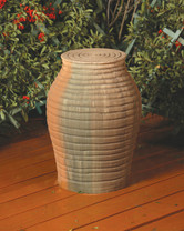 Amphora Pedestal (GFRC in Sierra finish)