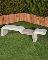 Vienna Bench (GFRC in Limestone finish)