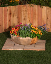 Alora Planter (GFRC in Chestnut finish)