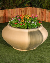 Madrid Planter (GFRC in Wheat finish)