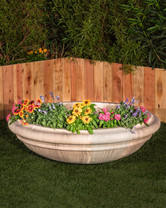 Sienna Planter (GFRC in Taupe finish)