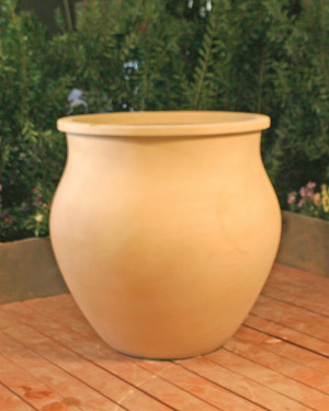 Taranto Planter (GFRC in Straw finish)