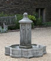 Provence Fountain (Cast Stone in Alpine Stone finish)