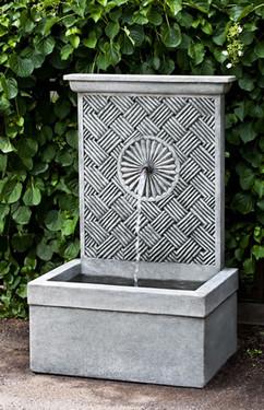 Solaris Fountain (Cast Stone in Alpine Stone finish)