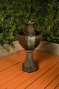 Augusta Fountain - Material GFRC - Finish Celano