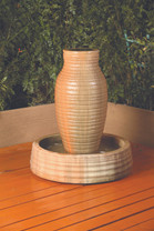 Amphora Fountain - GFRC material  - shown in sierra finish