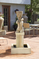 Athena Fountain - GFRC Material - shown in sierra finish