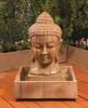 Buddha head Fountain - Small - Material : GFRC - Finish : Sierra