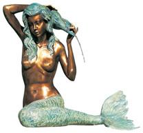 Mermaid Fountain - Material : Brass
