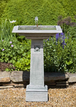 Hampstead Fountain - Material : Cast Stone - Finish : GreyStone