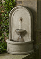 Colonna Fountain(FT-195) - Material : Cast Stone - Finish : Verde