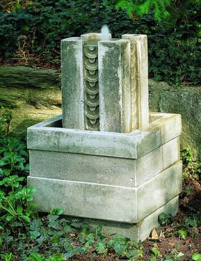 Barcelona Fountain  - Material : Cast Stone - Finish : Greystone