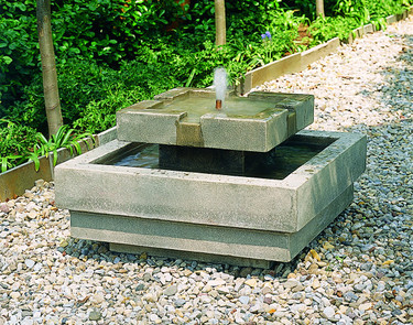 Escala Fountain(FT-36) - Material : Cast Stone - Finish : GreyStone