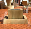 Linear Fountain - Material : GFRC - Finish : Sierra