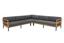 ZUDU corner sofa Teak