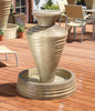 Small Olive Jar Fountain - Material : GFRC - Finish : Sierra