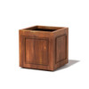 Square Pomo Planter - Material : Mild Steel - Finish : Natural Rust