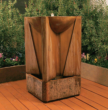 Trophy Fountain - Material : GFRC - Finish : Chestnut