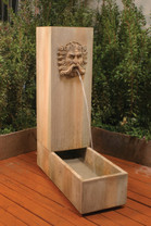 Water Trough Fountain - Material : GFRC - Finish : Sierra