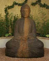 Large Sitting Budda - Material : GFRC - Finish : Absolute