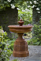 Fontainbleu Fountain - Material : Cast Stone - Finish : Ferro Rustico