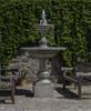 Charleston Fountain - Material : Cast Stone - Finish : Alpine Stone