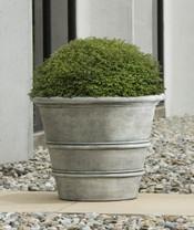 Umbria Round Planter - Material : GFRC - Finish ; Alpine Stone
