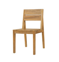EDEN Slats Chair - Material : Recycled Teak