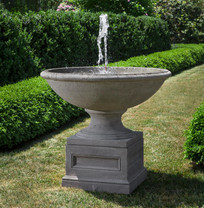 Condotti Fountain(FT-280) - Cast Stone - Finish : Alpine Stone