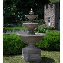 Fonthill Fountain - Material : Cast Stone - Finish : Alpine Stone