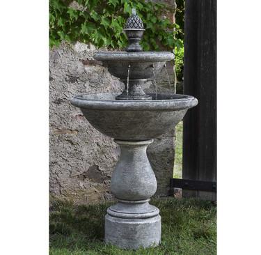 Charente Fountain( FT-279) - Material : Cast Stone - Finish : Alpine Stone