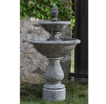 Charente Fountain( FT-279) - Material : Cast Stone - Finish : Alpine Stone