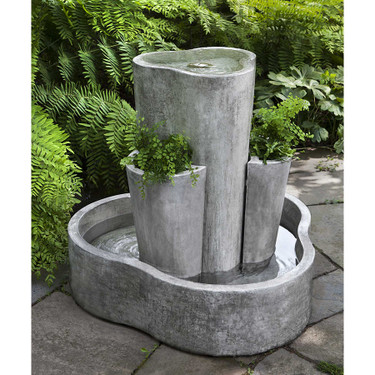 LC1 Fountain(FT-275) - Material : Cast Stone - Finish : Alpine Stone