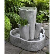 LC1 Fountain(FT-275) - Material : Cast Stone - Finish : Alpine Stone