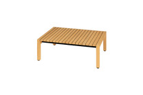 EKKA Square Coffee Table - Plantation Teak