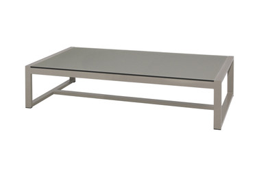 MONO Long Table - Powder-Coated Aluminum, High Pressure Laminate (HPL - sandstone)