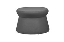 ALLUX stool medium - Stamskin (grey taupe)