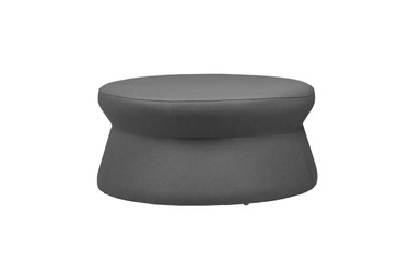 ALLUX stool large - Stamskin (grey taupe)