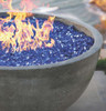 Moderno I Fire Pit (glass-fiber reinforced cement in pewter with optional fire glass)