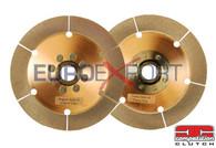 Honda K20 K24 Competition Clutch Twin Disc Upper & Lower Ceramic Disc Replacement 4-8037-C