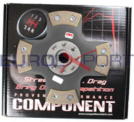 Honda B16/B18/B20 Competition Clutch 4 Puck Solid Clutch Disc